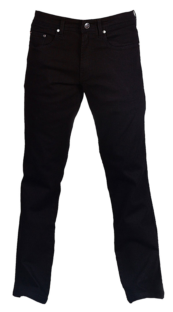 Motorcycle Jeans for men with armour - Jet Black - Riding Denim AU