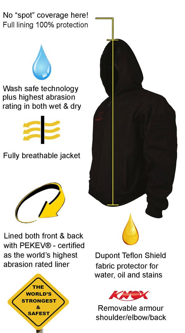 best protective motorcycle hoodie