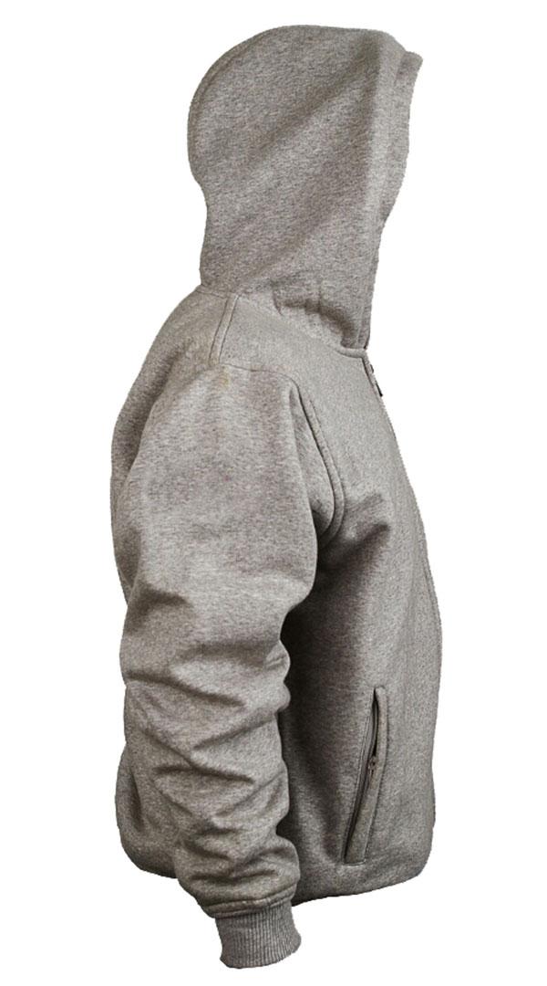 armoured motorcycle hoodie
