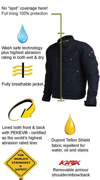 safest motorcycle jacket