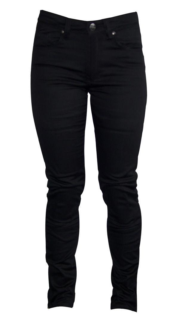 Womens motorcycle Jeans - Skinny Black