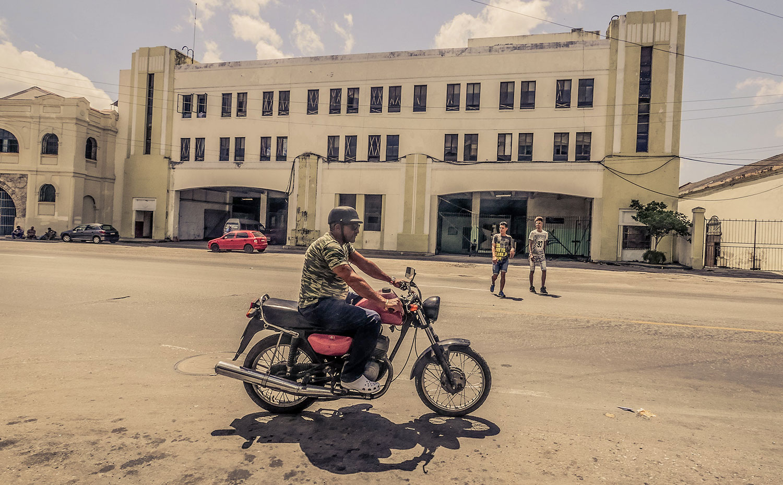 Cuban guy in Resurgence Gears, Pekev® Lite, Dark Blue motorcycle jeans Australia - Picture by Dean Saffron 4