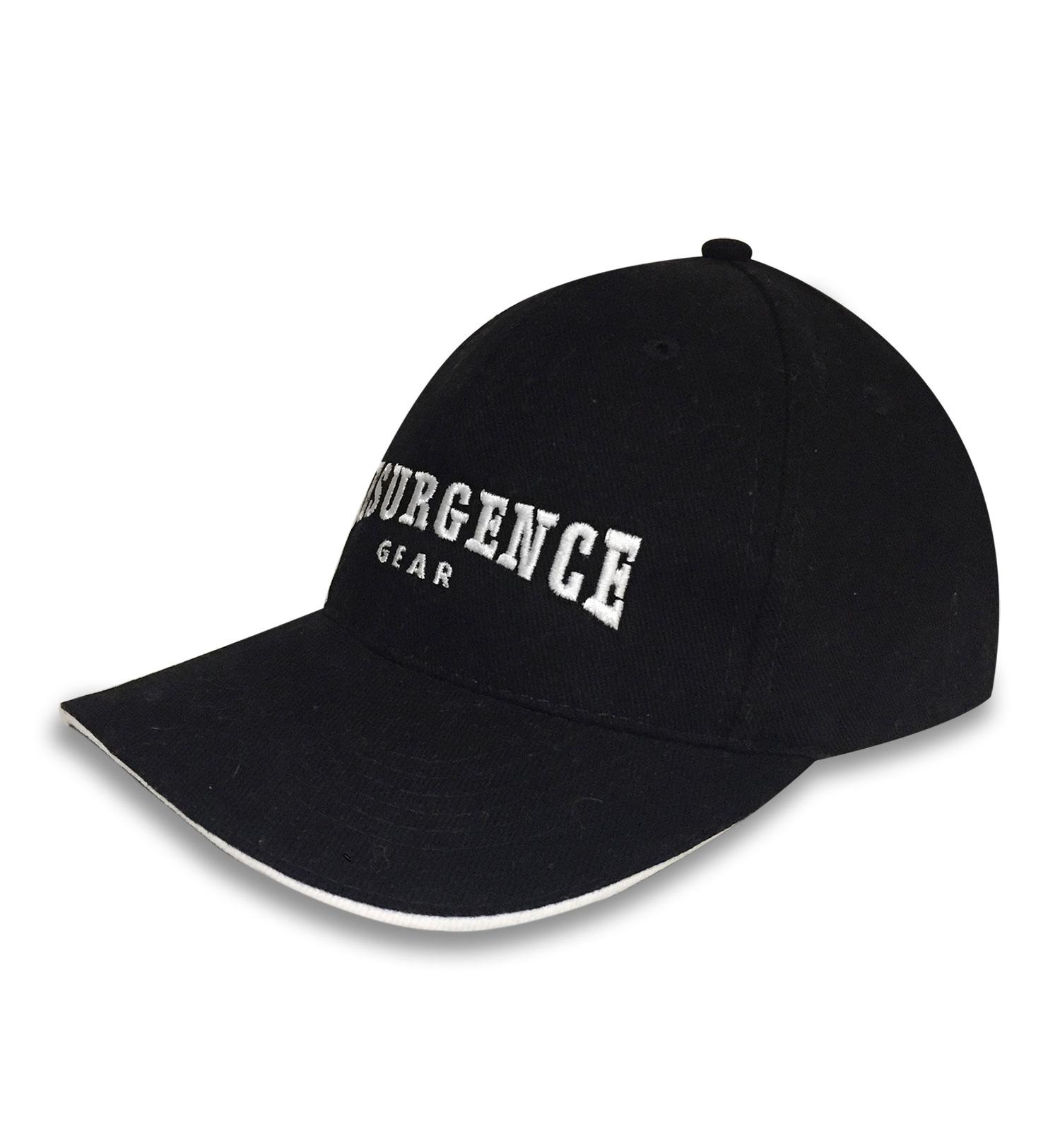 MOTORING CAP : BLACK/WHITE