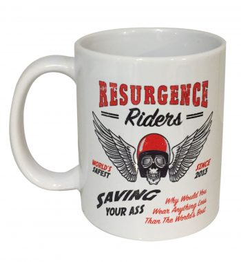 Motorcycle Mug - Saving Your Ass