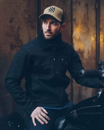 Sherpa jacket - motorcycle jacket