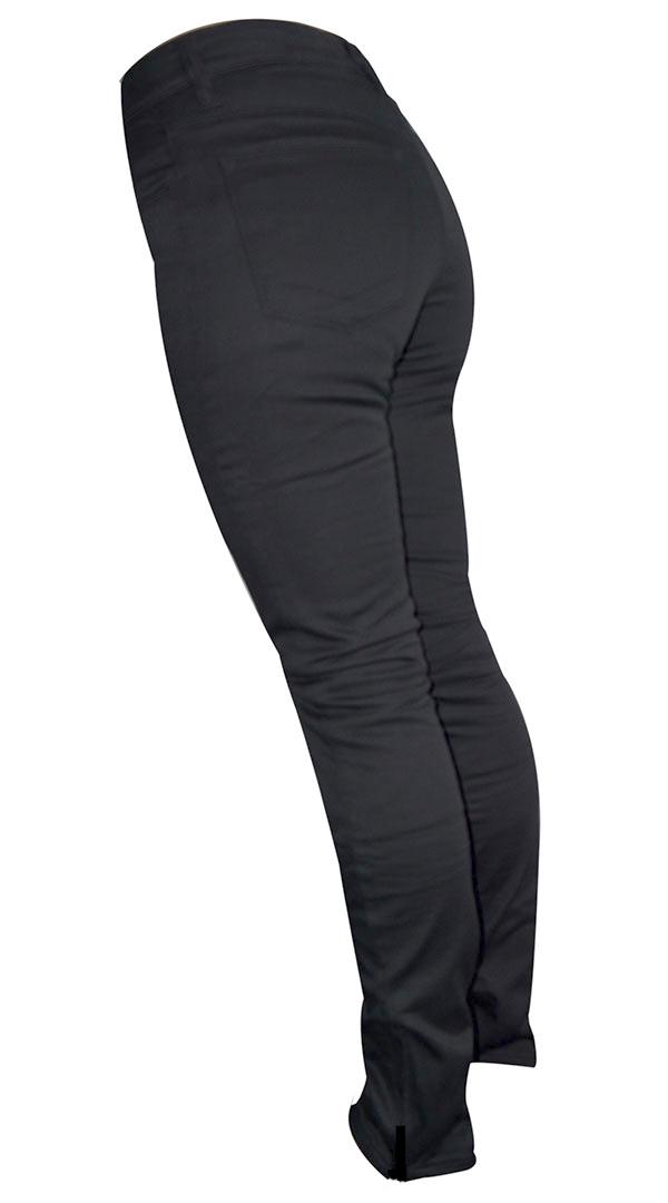 WOMENS BLACK LEGGINGS : SARA JANE